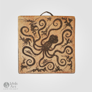 PS8-octopus-flowers-hanging-plaque